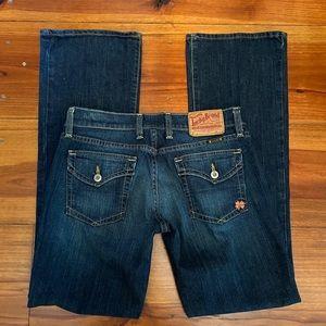 Lucky Brand Jeans 'Sundown' Bootcut Sz 4/27 EUC